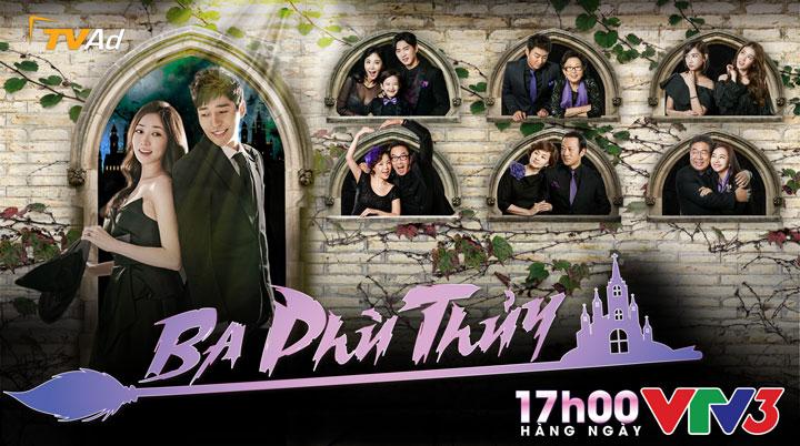 94 tập phim tình cảm, hiện đại, lãng mạn của Hàn Quốc Ba phù Thủy sẽ lên  sóng 17h00 hàng ngày trên kênh VTV3 bắt đầu từ 21/1/2017.